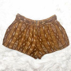 Free People Shorts - Free People Patola Ikat Lattice Shorts